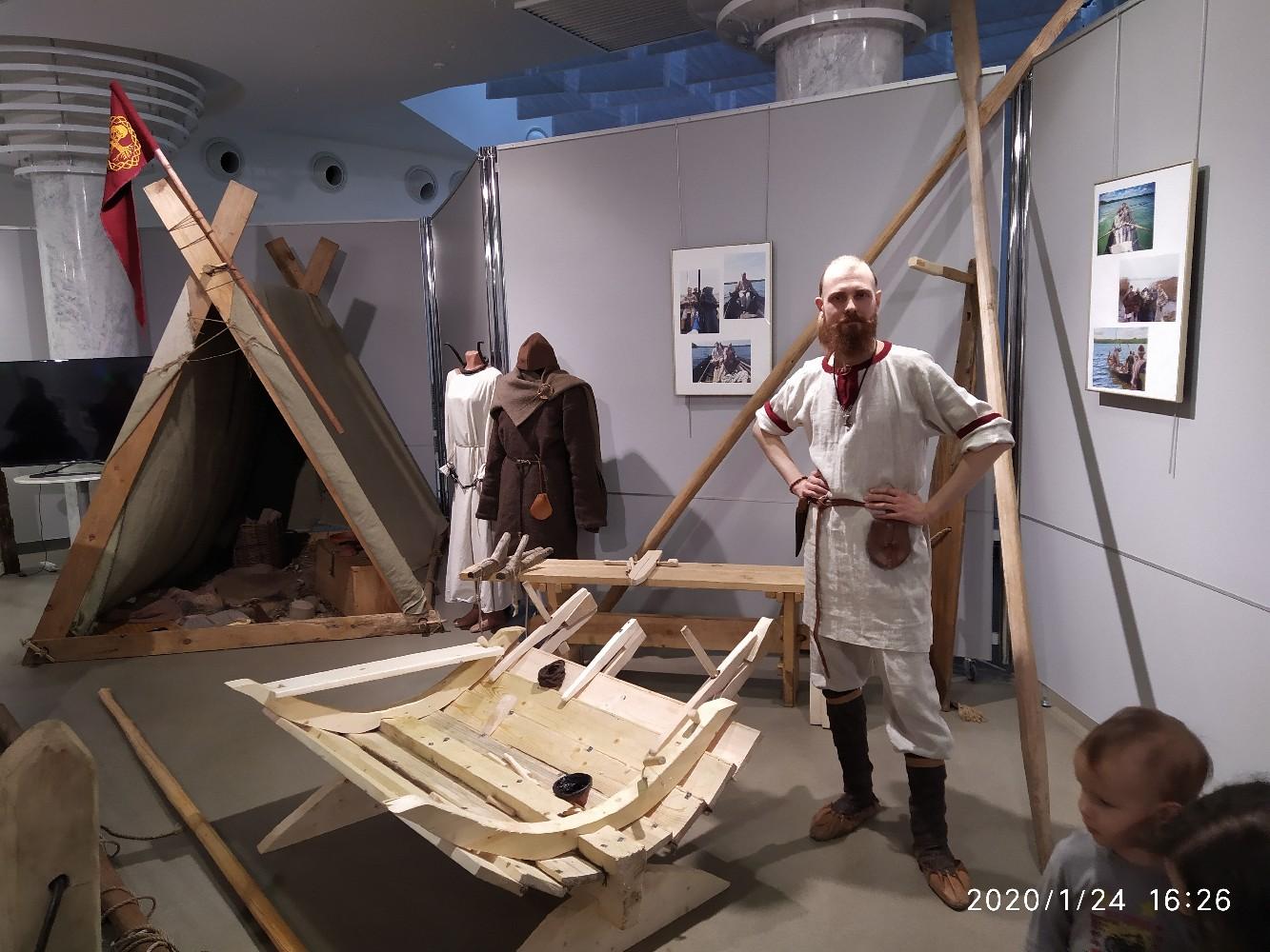 Открытие выставки « Эпоха викингов»