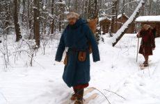 По древнему поселению – на «средневековых» лыжах