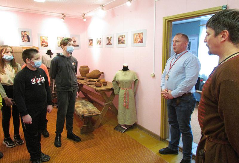Открытие выставки «У истоков Руси» в Кардымове