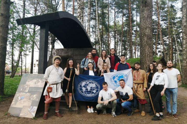 Международная стажировка РГО в Смоленской области: Смоленск–Гнёздово